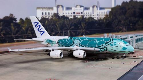 "Phoenix 1:400 ANA A380-800 ""Kai"""