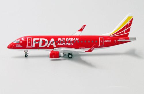 """JCwings 1:400 Fuji Dream Airlines ERJ-170 """"Red"""""""