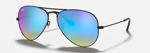 Ray-Ban Pilot Blue Flash Gradient Sunglasses