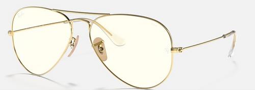 Ray-Ban Aviator Clear Evolve Sunglasses Photochromic
