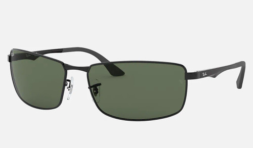 Ray-Ban Rectangle Metal Man Sunglasses