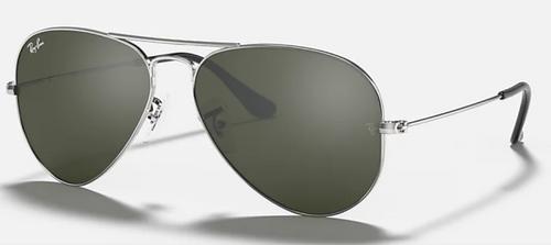 Ray-Ban Aviator Grey Mirror Sunglasses