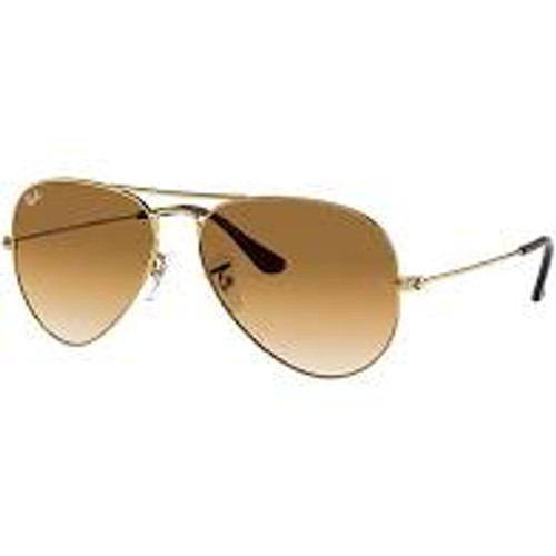 Ray-Ban Polarized Aviator Classic Brown Sunglasses