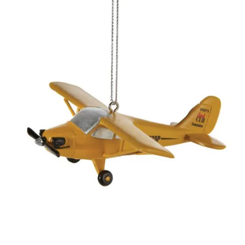 Cub Airplane Ornament