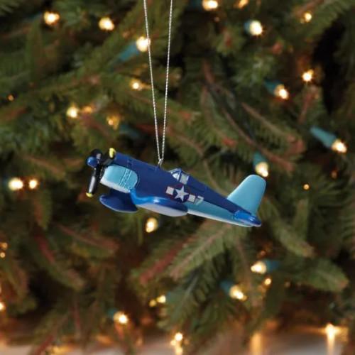 F-4U Corsair Airplane Ornament