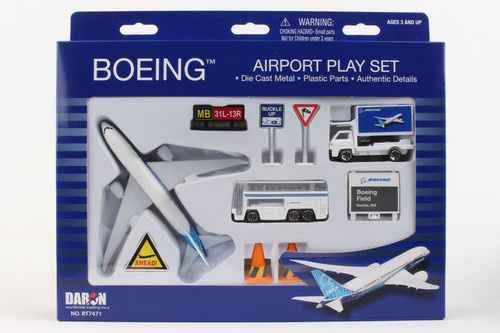 Boeing Commerical Playset