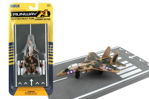 "Runway24 F-15 Eagle ""Camo"" Toy"