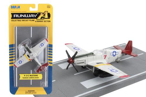 Runway24 P-51 Tuskegee Airmen Toy