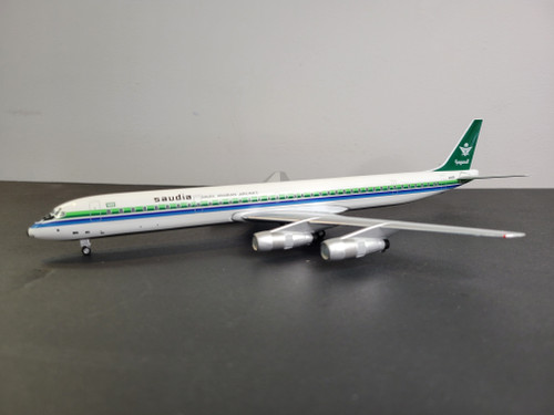 Aeroclassics200 1:200 Saudi Arabian Airlines DC-8-61