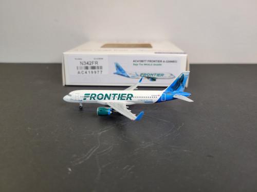 "Aeroclassics 1:400 Frontier A320NEO ""Baja the Whale Shark"""