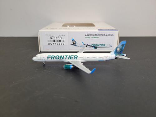 "Aeroclassics 1:400 Frontier A321 ""Cubby the Bear"""