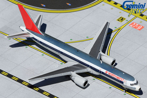 Gemini Jets 1:400 Northwest Airlines 757-200 (Polished Livery)