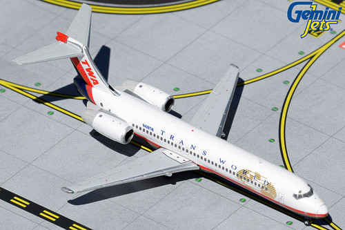 Gemini Jets 1:400 Trans World Airlines 717-200