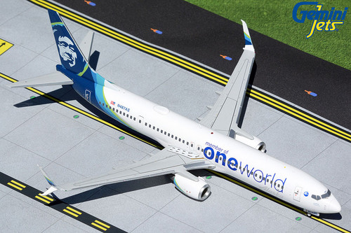 Gemini200 1:200 Alaska Airlines 737-900ER (One World Livery)