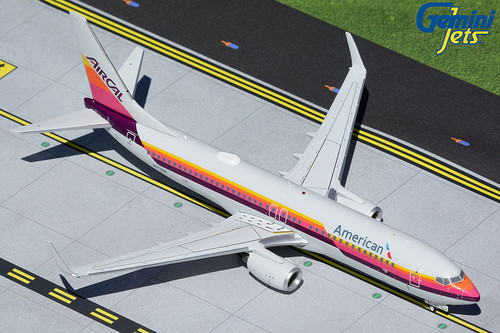 Gemini200 1:200 American Airlines 737-800 (AirCal Heritage Livery)