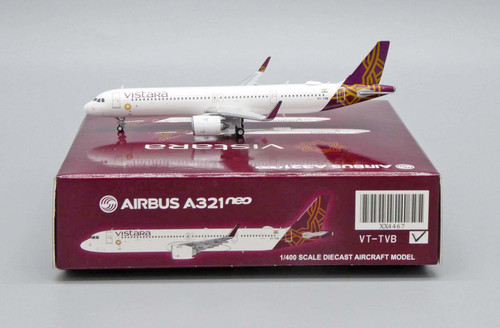JC Wings 1:400 Vistara A321NEO - VT-TVB