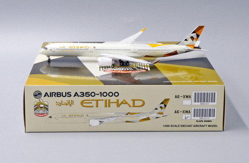 "JC Wings 1:400 Etihad A350-1000 ""Flaps Down"""