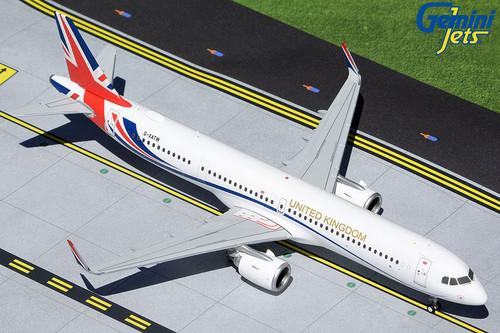 "Gemini200 1:200 Royal Air Force A321NEO ""United Kingdom """