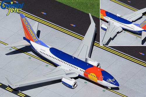 Gemini200 1:200 Southwest Airlines 737-700 (Colorado One, Flaps Down)