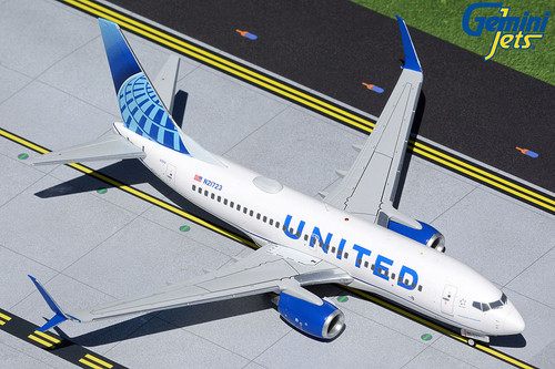 Gemini200 1:200 United Airlines 737-700 (New Livery)