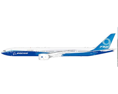 JC Wings 1:400 Boeing House Livery 777-9X (Folded Wings Version)