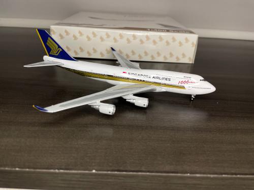 """Gemini 1:400 Singapore Airlines 747-400 """"1000th"""""""