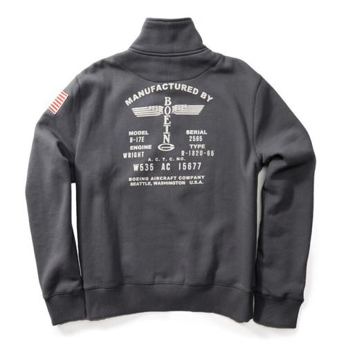 Boeing Vintage Logo Full Zip Sweatshirt