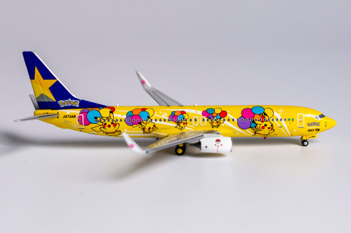 NG Models 1:400 Skymark Airlines 737-800 (Pokemon Livery)