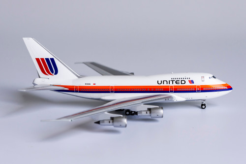 NG Models 1:400 United Airlines 747-SP (Saul Bass Livery)