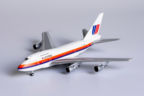 NG Models 1:400 United Airlines 747-SP (Saul Bass Livery, Friendship One)