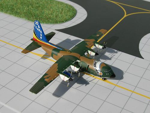 "Gemini Macs 1:400 Belgian Airforce Lockheed C-130H ""20 years"""