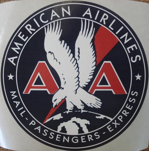 American Airlines Vintage Logo Sticker