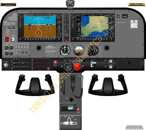 Diamond Da42 Twin Star Cockpit Poster
