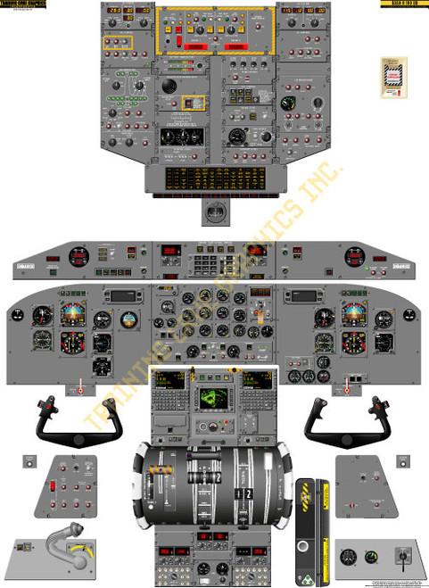Bombardier Dash 8-100 Poster