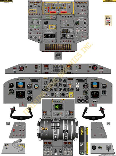 Bombardier Dash 8-300 EFIS Poster