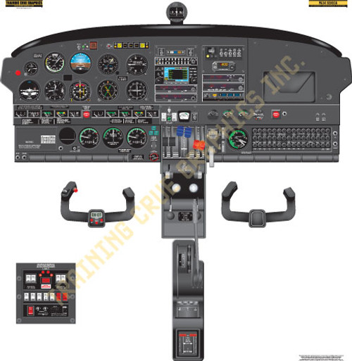 Piper PA-34 Poster