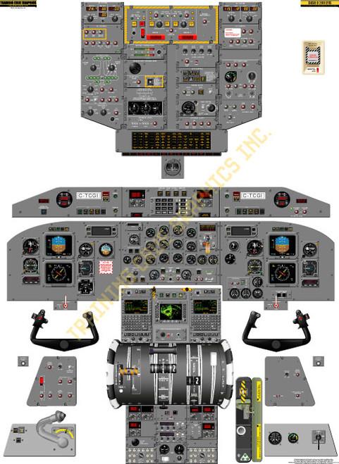 Bombardier Dash 8-200 EFIS Poster