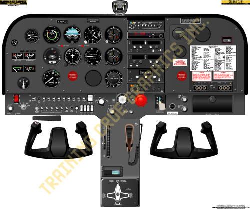 Cessna 172P Poster