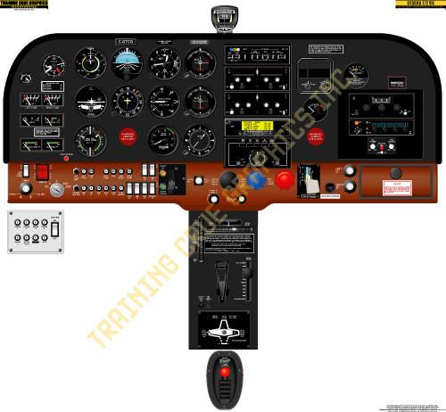 Cessna 172RG Poster
