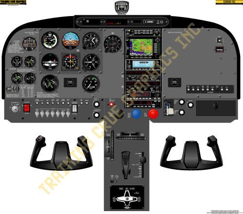 Cessna 182 Skylane Poster