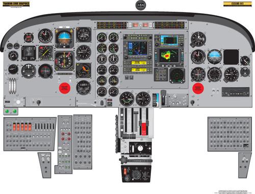 Cessna 441 Conquest Poster