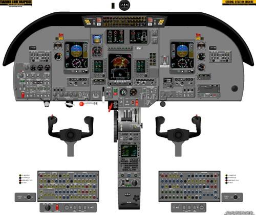 Cessna Citation Encore 560 Poster