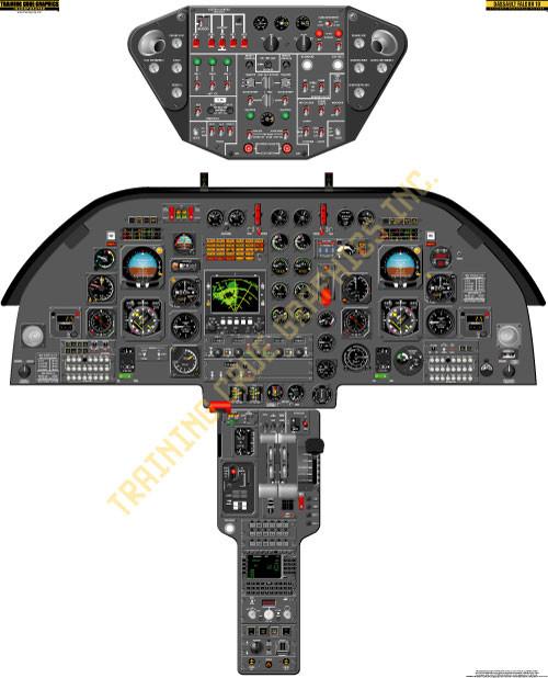 Dassault Falcon 10 Poster