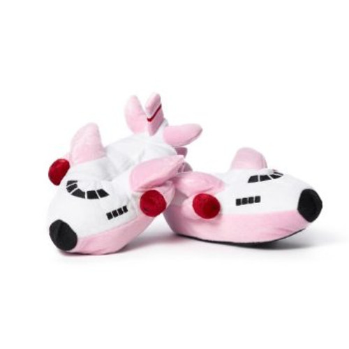 Girl's Airplane Slippers