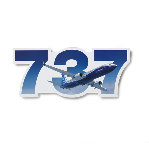 737 Program Sticker