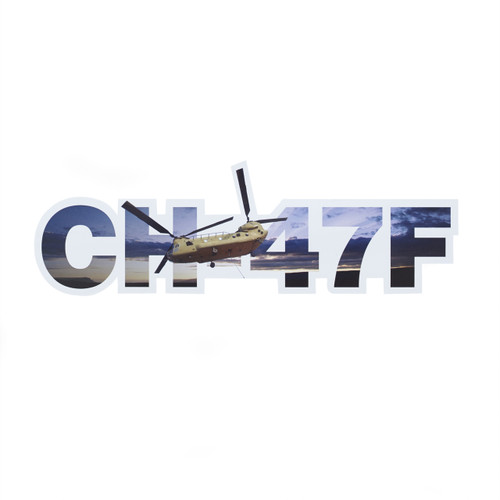 CH-47F  Die-Cut Sticker
