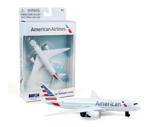 American Airlines Single Plane