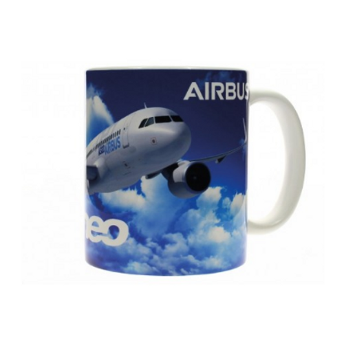 Airbus A320 Neo Sky Mug