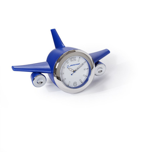 Boeing Airplane Desk Clock