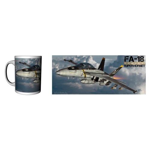 FA-18 Superhornet Ceramic Mug